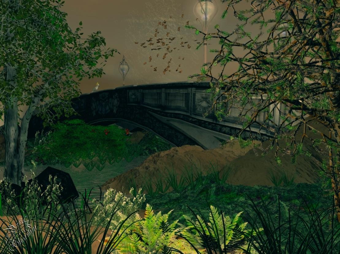 Über die Brücke gehn ...