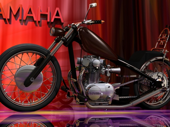 YAHAHA XS 650