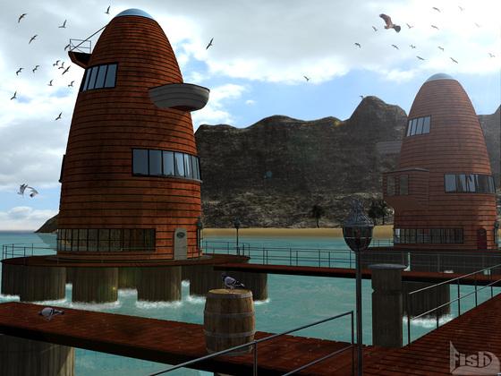 Brythana's Wohnhäuser