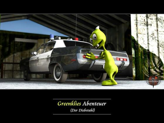 Greenklies Abenteuer (1): Der Diebstahl