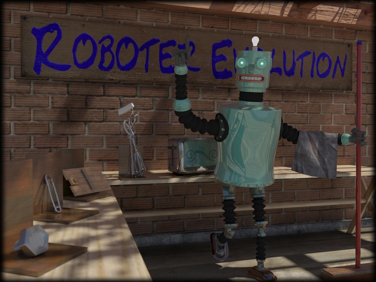 Roboter Evolution - 1. Version