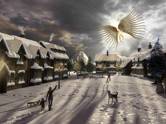Engel des Friedens