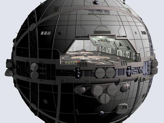 Vesta-Kreuzer, Blick in den Hangar
