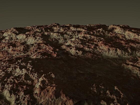 Havarie auf dem Mars