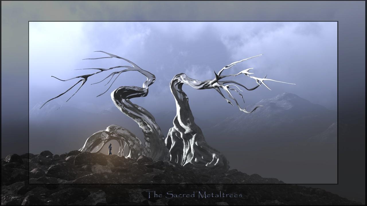 Die heiligen Metallbäume