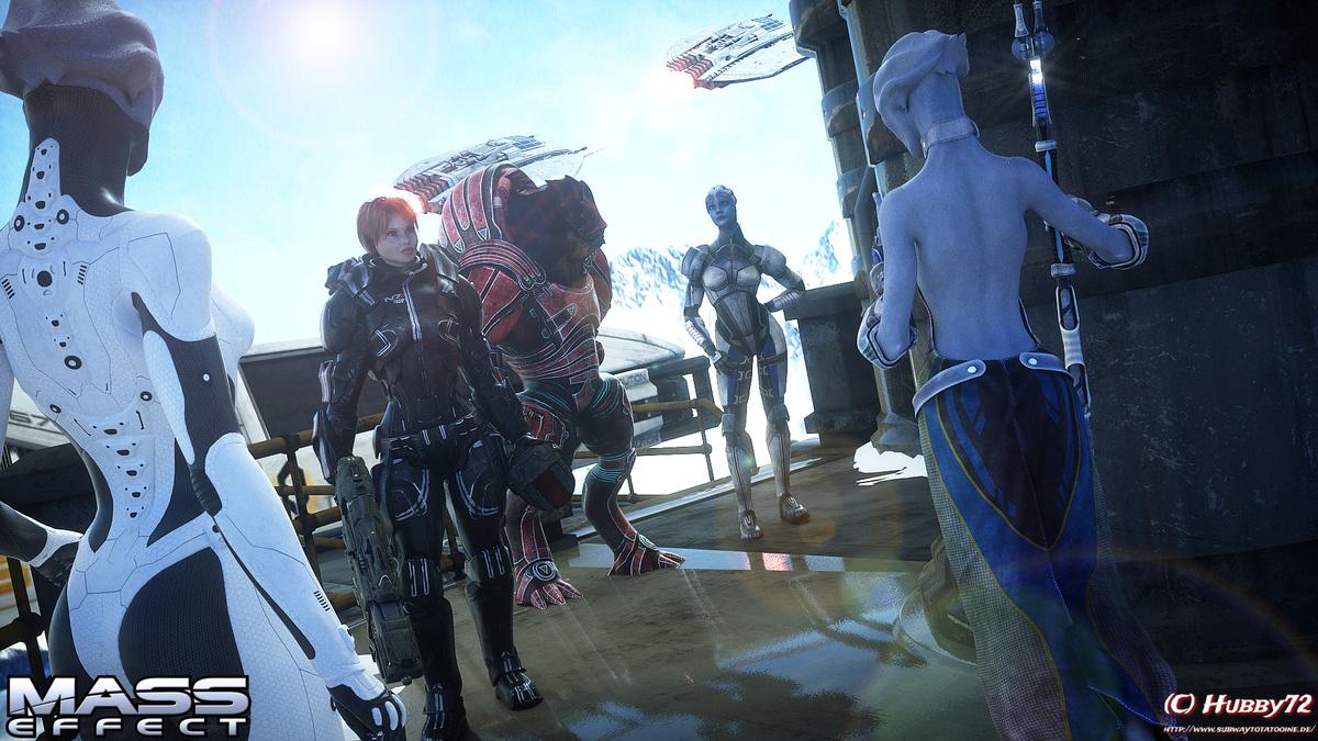 Willkommen auf Planet Iridia, Commander Shepard!