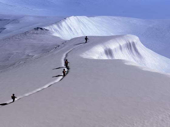 snow hiking 2