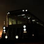 Bus am Abend...