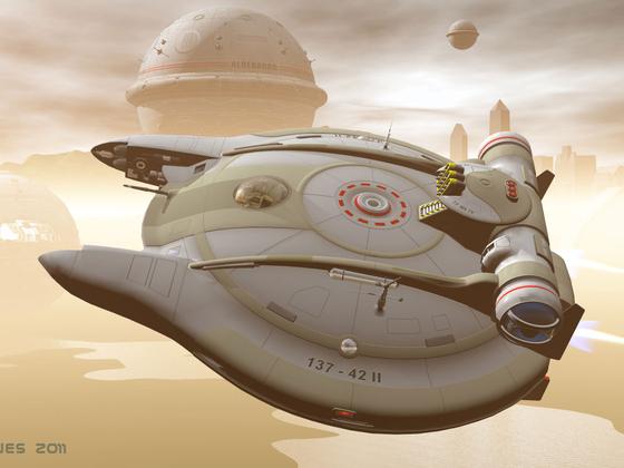Spacejet im Einsatz