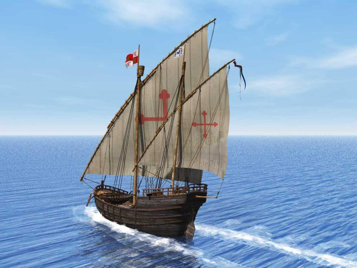Die NIna der Kolumbusflotte