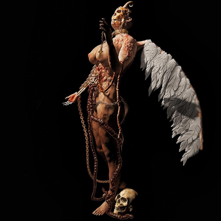 Fallen Angel Textured