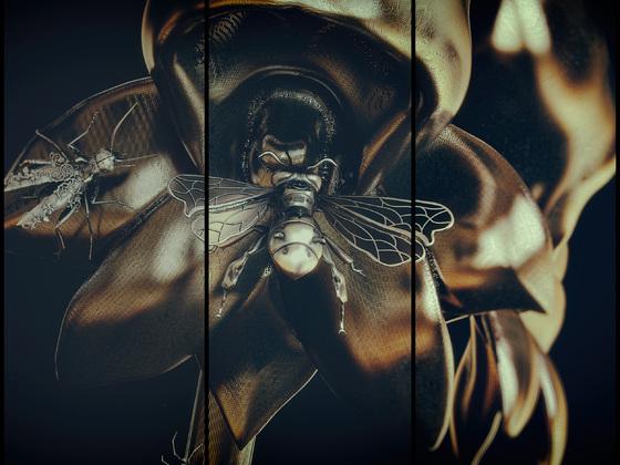 Steampunk Insekten  2