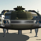 Spacejet, Frontalansicht