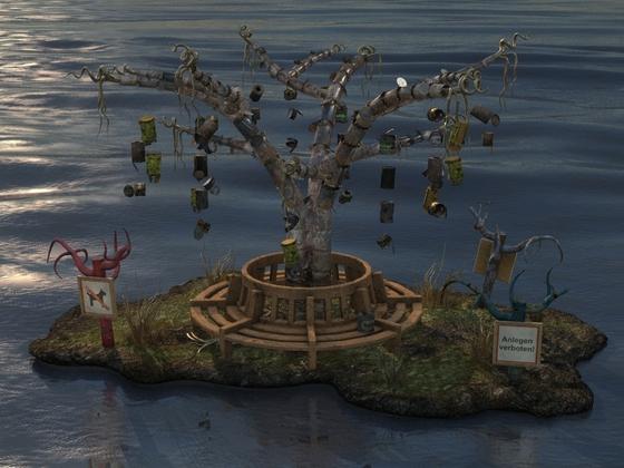 Die letzte Holzbank