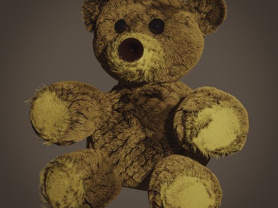 Mein erster Teddy, selbst gebaut :-)