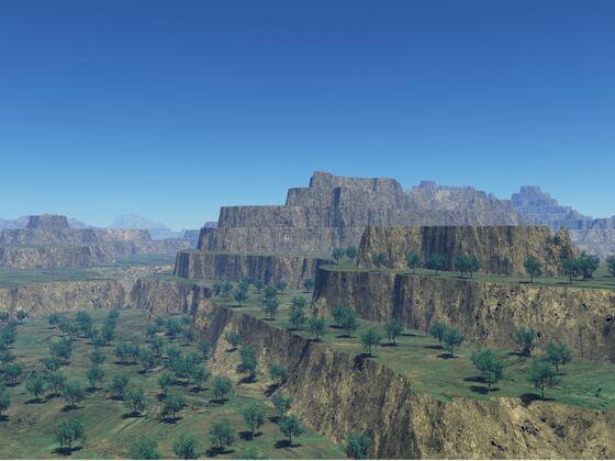 2021 7 Landschaft Halbwüsten K