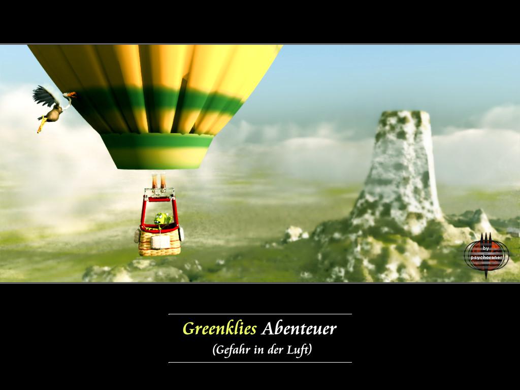 Greenklies Abenteuer (3): Gefahr in der Luft