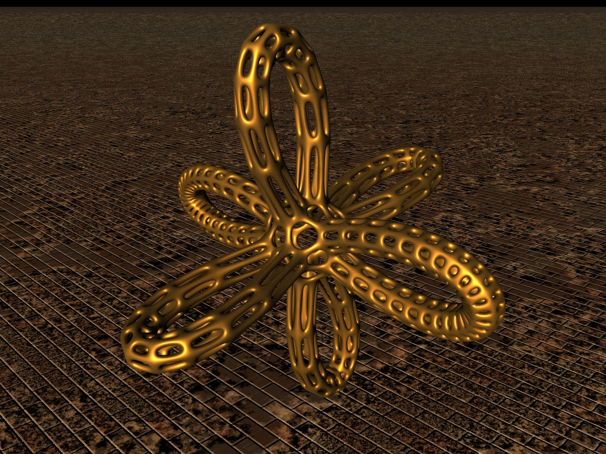 Gold Objekt