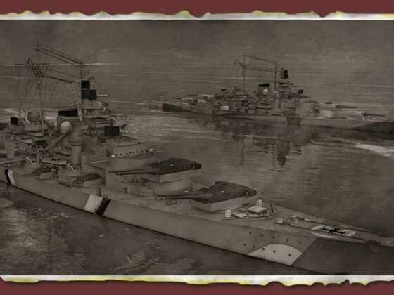 Bismarck und Tirpitz