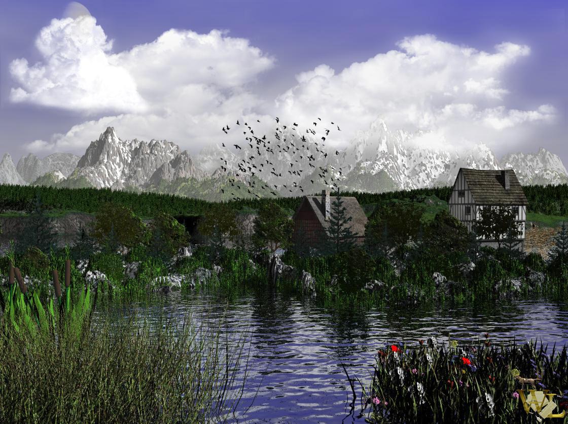 alpines Panorama