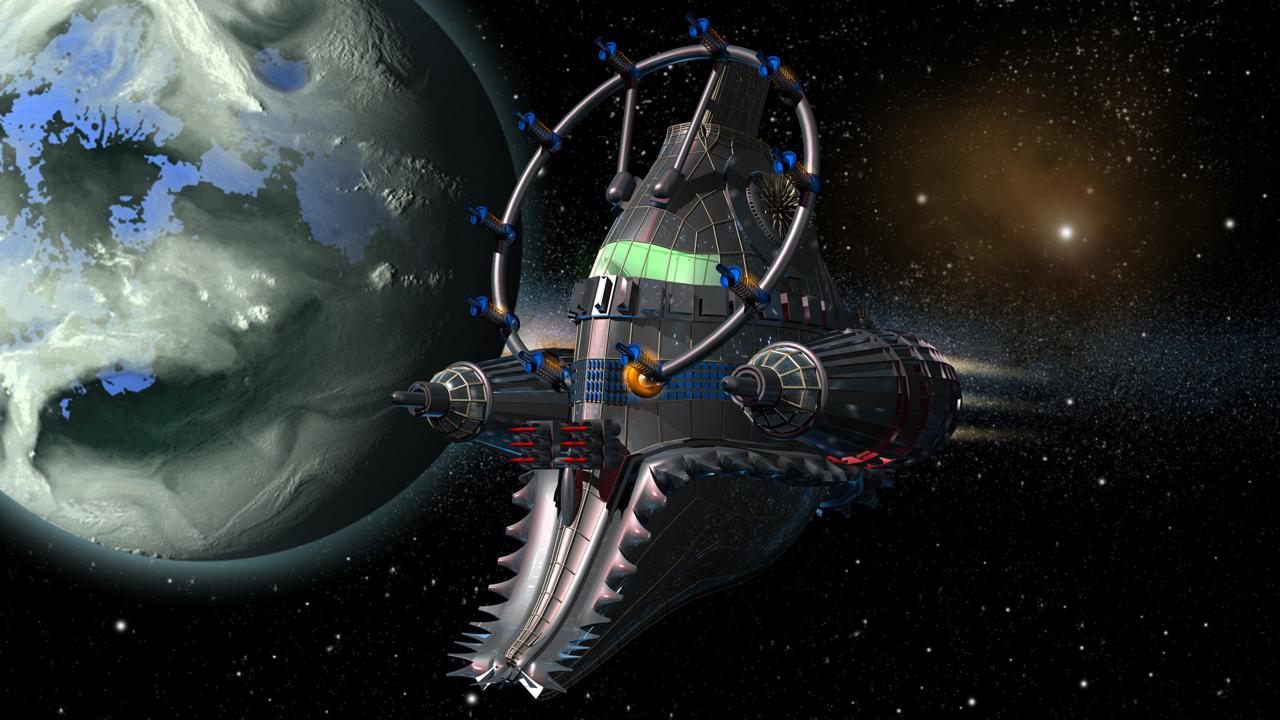 Dimensionensprungschiff des Thorn of Ivanhoe
