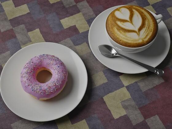 Der Blender Donut