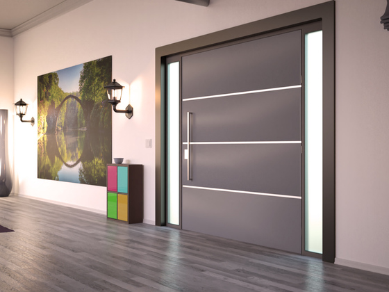 """Eingangsbereich meines Projektes """"Modern Appartment"""""""