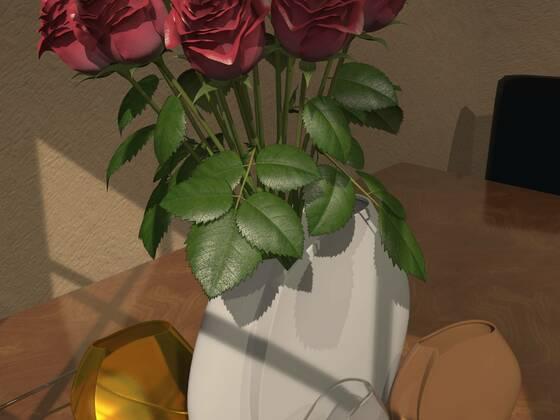 Asymetrische Vase