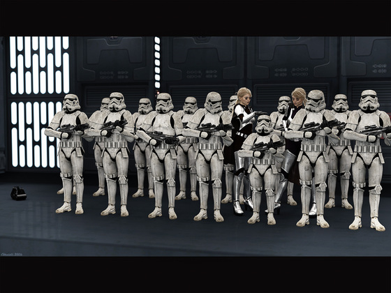 Special Unit Stormtrooper WD-7023