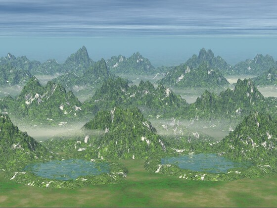 Landschaft BildA