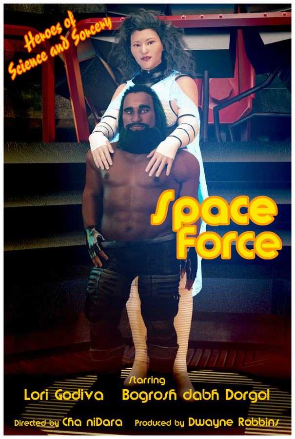 Lori - Space Force the Movie, Poster