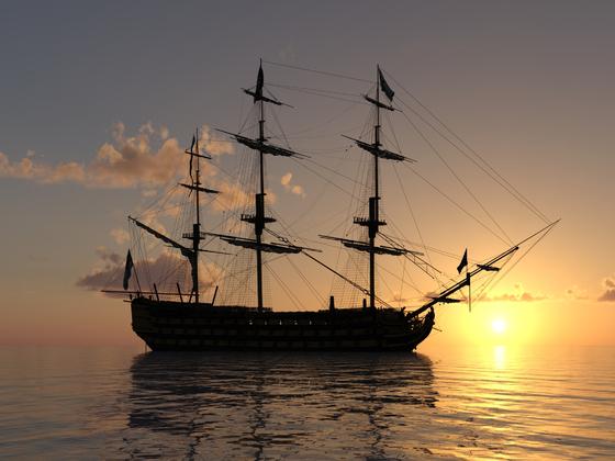 Segelschiff Cinemascope