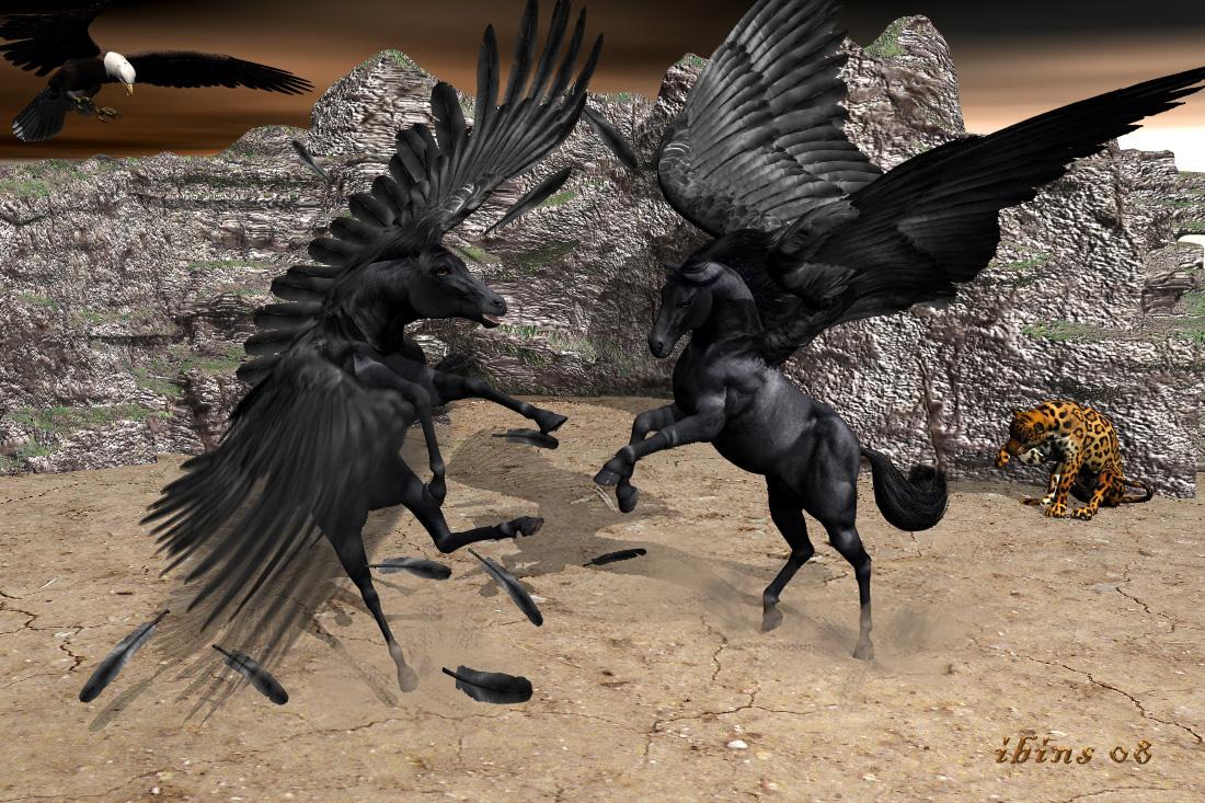 Pegasus und Pegasos