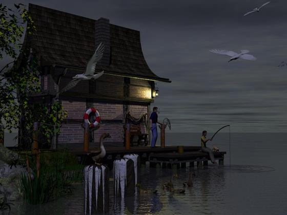 Abend an der Küste...