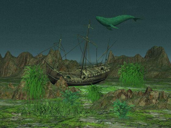 Unterwasser Scene D