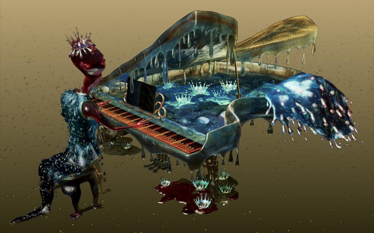 Alien Wasser Musik
