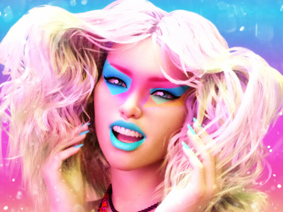 Rachel - Colorful Portrait