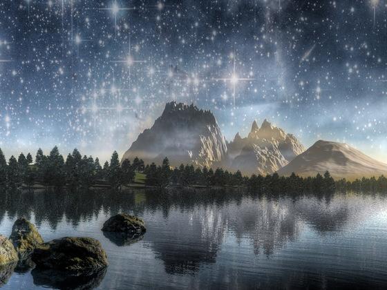 """Auf dem erdähnlichen Planeten """"Traumhimmel"""""""