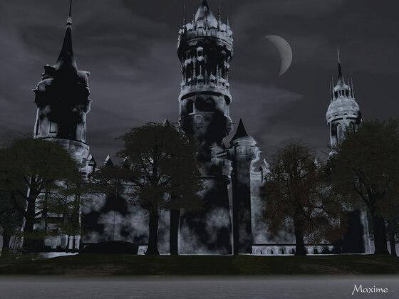 unheimliches Schloss
