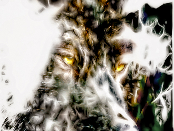 Smudged Wolf
