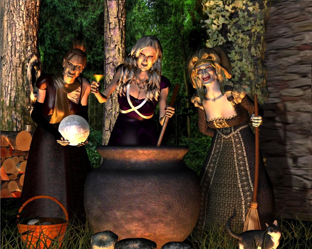 die drei Hexen