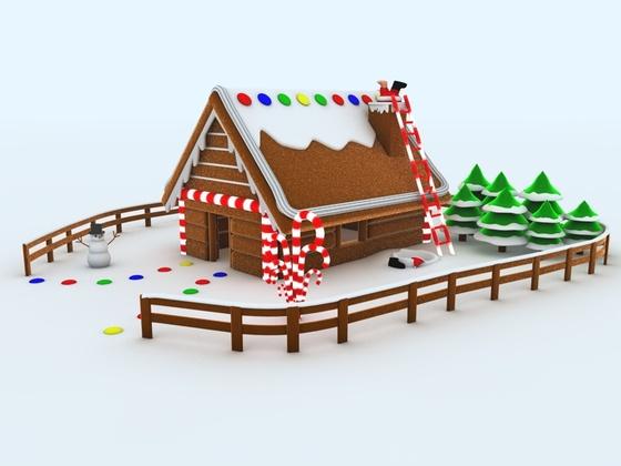 Speedmodelling - Weihnachtsbäckerei