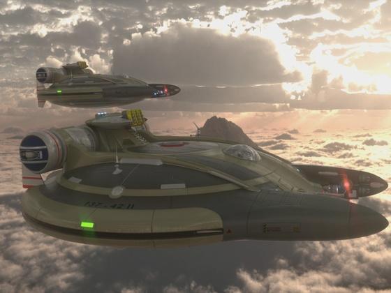 Raumschiffe...