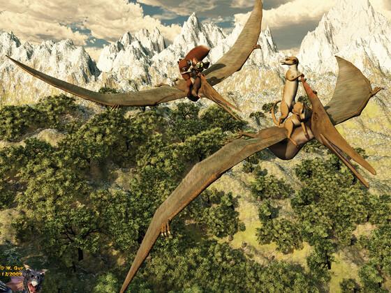 (Pteranodon)Ausflug