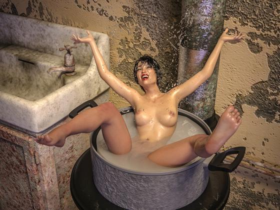 Germanys next TOPFmodel: Ich hab's entdeckt!               (nudity)