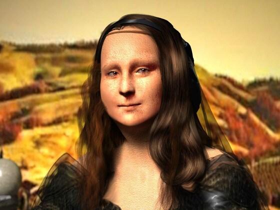 Mona Lisa by KomyFlyinc@ 3D Art