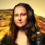 Mona Lisa by KomyFlyinc@ 3D Art