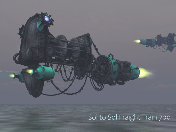 Sol to Sol Fraight Train