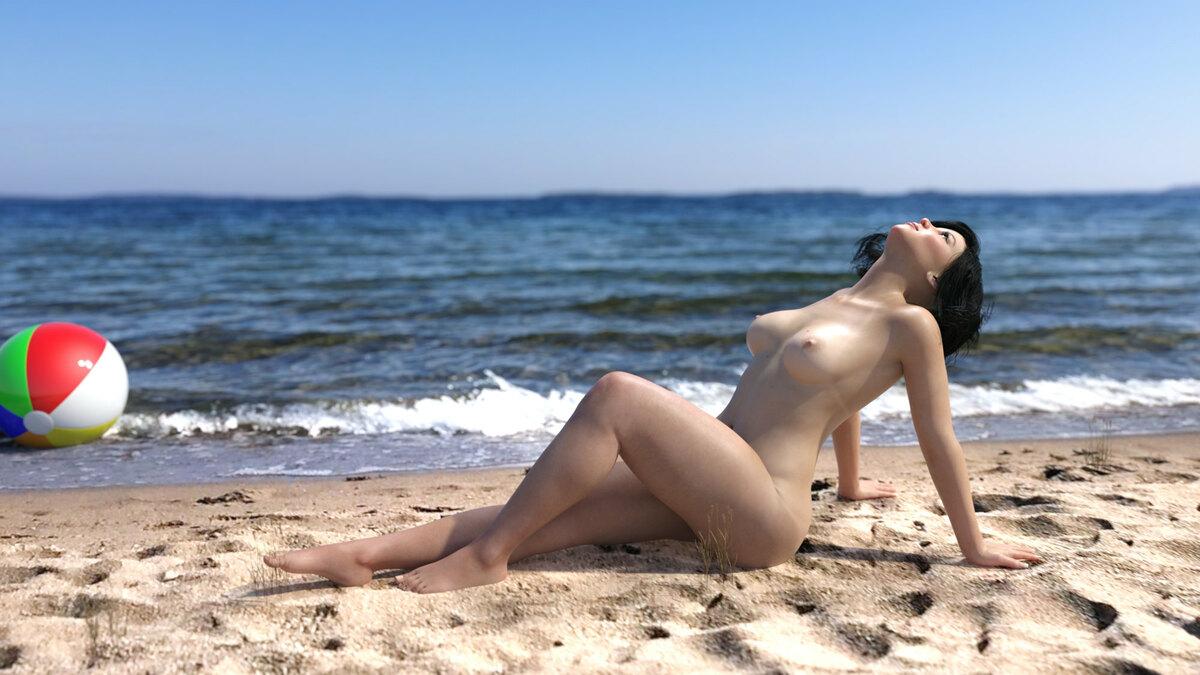 Natürliche Schönheit am Strand