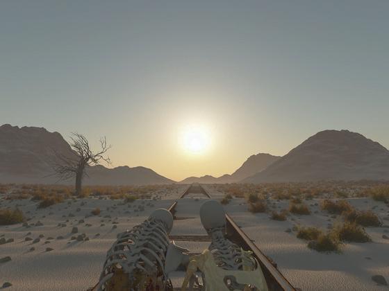 Der Zug, der niemals kam ...